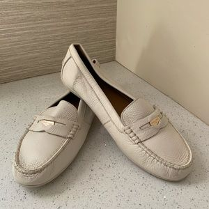Coach Penny Loafers Ivory